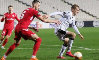 Europa League: Τέλος η ευρωπαϊκή πορεία για τον ΠΑΟΚ έχασε 2-1 από την Ομόνοια