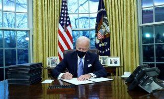 Ο Τζο Μπάιντεν ακύρωσε τη διαδικασία αποχώρησης των ΗΠΑ από τον Παγκόσμιο Οργανισμό Υγείας
