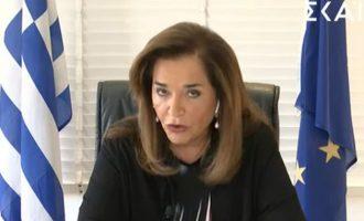 Ντόρα Μπακογιάννη: «Ο Ερντογάν τα τίναξε όλα στον αέρα»