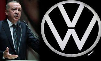 «Πόλεμος» Ερντογάν στη Volkswagen επειδή δεν επενδύει στην Τουρκία