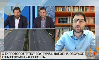Ηλιόπουλος: Αστυνομία στα πανεπιστήμια υπάρχει μόνο στην Τουρκία του Ερντογάν