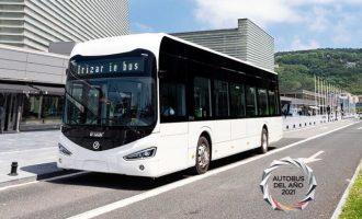 Το λεωφορείο Irizar ie κερδίζει το βραβείο «Λεωφορείο της Χρονιάς 2021»