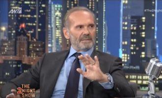 Κωστόπουλος: Διαφημιστικές μου χρωστάνε 8 εκατ. ευρώ – Γιατί δεν αυτοκτόνησα
