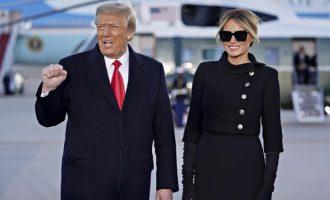Μελάνια Τραμπ: Η μεγαλύτερη τιμή μου να είμαι η δική σου Πρώτη Κυρία