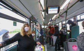 Κορωνοϊός-Γαλλία: Οι γιατροί ζητάνε από τους πολίτες να μην μιλάνε μέσα στα ΜΜΜ