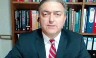 Βασιλακόπουλος: Οι εμβολιασμένοι με μια δόση κολλάνε κορωνοϊό που μπορεί να μεταλλαχθεί