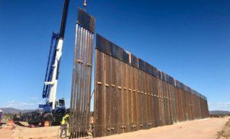 «Το Μεξικό χαιρετίζει το τέλος της κατασκευής του τείχους» στα σύνορα με τις ΗΠΑ