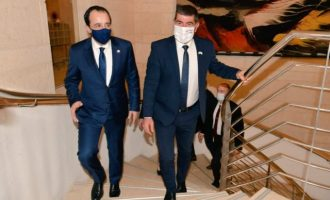 Χριστοδουλίδης και Ασκενάζι συζήτησαν θέματα ενέργειας, ασφάλειας και σταθερότητας