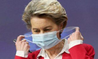 Η Ούρσουλα παραδέχτηκε ότι απέτυχε με τους εμβολιασμούς