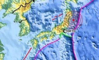 Τρόμος στην Ιαπωνία: Σεισμός 7,2 Ρίχτερ και προειδοποίηση για τσουνάμι