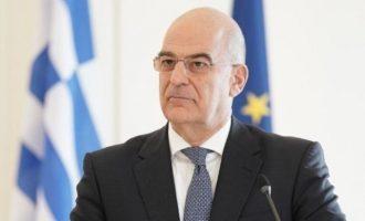 Νίκος Δένδιας: «Η δημοκρατία πάντα νικά»