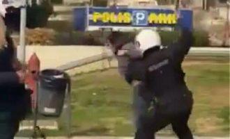 ΕΛ.ΑΣ.: ΕΔΕ για τα επεισόδια στη Νέα Σμύρνη μετά τα βίντεο με αστυνομική βία