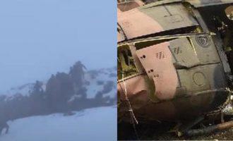 Συνετρίβη ελικόπτερο στην Τουρκία – Ανάμεσα στους νεκρούς και ο Διοικητής 8ου Σώματος Στρατού
