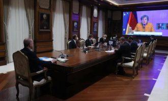 Η Μέρκελ «μπερδεύεται» σε Αν. Μεσόγειο, Κυπριακό και Λιβύη – Είπε πάντως στον Ερντογάν για Διεθνές Δίκαιο