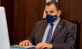 Ο Νίκος Παναγιωτόπουλος σε τηλεδιάσκεψη των Γάλλων για τη ζώνη του Σαχέλ