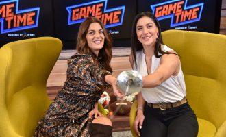 Η Πρωταθλήτρια της ξιφασκίας Δέσποινα Γεωργιάδου παίζει μπάλα στο ΟΠΑΠ Game Time (βίντεο)