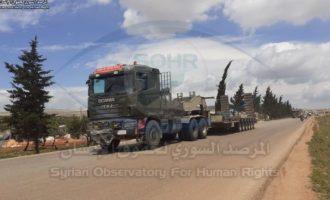 Η Τουρκία ενισχύει τις στρατιωτικές δυνάμεις της στη Β/Δ Συρία