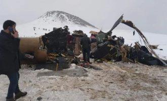 Κούρδοι (PKK): Εμείς καταρρίψαμε το τουρκικό ελικόπτερο με τους 11 νεκρούς – Χουλουσί Ακάρ: Έπεσε λόγω κακού καιρού