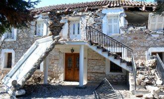 Θεσσαλία: Μη κατοικήσιμα 898 σπίτια στις σεισμόπληκτες περιοχές