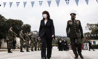 Στη Ρόδο η Πρόεδρος της Δημοκρατίας για την 73η Επετείου της Ενσωμάτωσης της Δωδεκανήσου