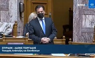 Άδωνις: Όποιος αμφισβητήσει τη Συμφωνία των Πρεσπών δωρίζει το όνομα Μακεδονία σκέτο στα Σκόπια – Σχόλιο Κοτζιά