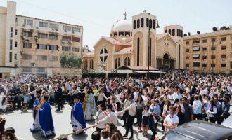 Ελληνορθόδοξη Κυριακή των Βαΐων στο Χαλέπι της Συρίας