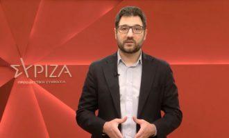 Ηλιόπουλος: Λέει ψέματα η κυβέρνηση για τον αριθμό των εμβολιασθέντων – Αθροίζει και τα ραντεβού