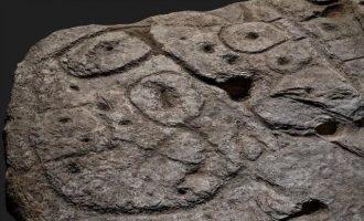 Γαλλία: Πέτρινη πλάκα 4.000 ετών ο παλαιότερος χάρτης στην Ευρώπη