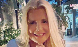 Θετική στον κορωνοϊό η Μαρίνα Πατούλη