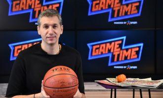 Ο Δημήτρης Διαμαντίδης στο ΟΠΑΠ GAME TIME ΜΠΑΣΚΕΤ (βίντεο)