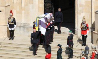 Κηδεύτηκε ο πρίγκιπας Φίλιππος (βίντεο)