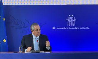 Μίχαλος στο Delphi Economic Forum: Το στοίχημα της ανάκαμψης και το παράδειγμα των ΗΠΑ