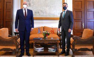Δένδιας σε Ντιμιτρόφ: Σταθερή η στήριξη της Ελλάδας στην ευρωπαϊκή προοπτική των Δυτ. Βαλκανίων