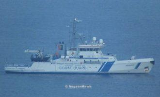 Τουρκικές ακταιωροί έκαναν επικίνδυνους ελιγμούς σε απόσταση αναπνοής από σκάφη της Frontex σε ελληνικά ύδατα