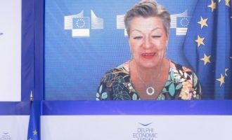 Ίλβα Γιόχανσον: Θέλουμε συγκεκριμένες δράσεις από την Τουρκία