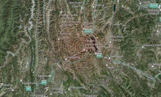 Ισχυροί σεισμοί στην Κίνα με νεκρούς και τραυματίες
