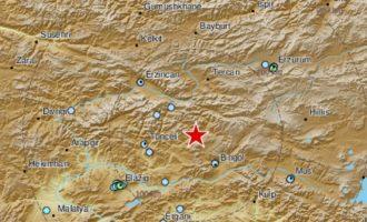 Ισχυρός σεισμός στην Τουρκία 5,2 Ρίχτερ