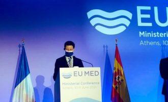 EUMED: Η Γαλλία στο πλευρό Ελλάδας και Κύπρου απέναντι στις τουρκικές προκλήσεις