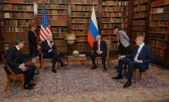 Ο Μπάιντεν τόνισε στον Πούτιν ότι στηρίζει σθεναρά την εδαφική ακεραιότητα της Ουκρανίας
