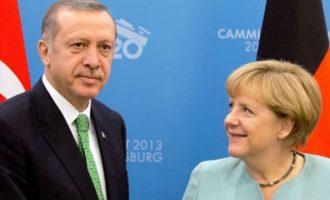 Η Μέρκελ έβαλε «πλάτες» στην προέλαση του «Αττίλα» στην Κύπρο – Ο ελληνισμός να θυσιαστεί για τα γερμανικά συμφέροντα;