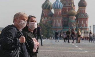 Έκρηξη κρουσμάτων στη Μόσχα – Πιέζονται πάλι τα νοσοκομεία