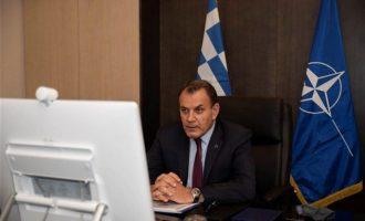 Στη Σύνοδο των υπουργών Άμυνας του ΝΑΤΟ συμμετείχε ο Παναγιωτόπουλος