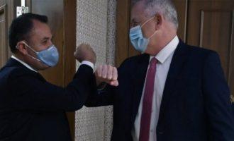 Ο Παναγιωτόπουλος συνομίλησε με τον νέο υπουργό Άμυνας του Ισραήλ