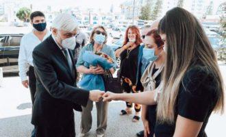 Παυλόπουλος από Κύπρο: Θα είμαστε εδώ μέχρι να ελευθερωθεί και το τελευταίο κομμάτι της κυπριακής γης
