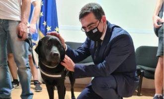 Ο Γιώργος Σταμάτης με την Εθνική Ποδοσφαιρική Ομάδα Τυφλών – Ποια αιτήματα συζητήθηκαν