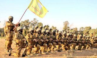 Ορκωμοσία 400 στρατιωτών των SDF παρουσία Αμερικανών – Σε υστερία ο τουρκικός Τύπος