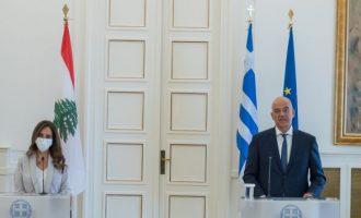 Δένδιας σε Ακάρ: Στηρίζουμε τον Λίβανο, ανοικοδομούμε, βρισκόμαστε το πλευρό ομογενών και Πατριαρχείου Αντιόχειας