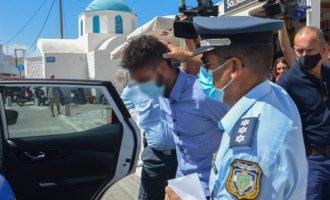 Φολέγανδρος: Τι είπε ο 30χρονος για τη δολοφονία της 26χρονης Γαρυφαλλιάς