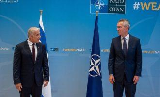 Στόλτενμπεργκ σε Λαπίντ: «Το Ισραήλ σημαντικός εταίρος του ΝΑΤΟ»