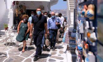 Τσίπρας από Μύκονο: Παταγώδης αποτυχία της κυβέρνησης με αβάσταχτη ελαφρότητα